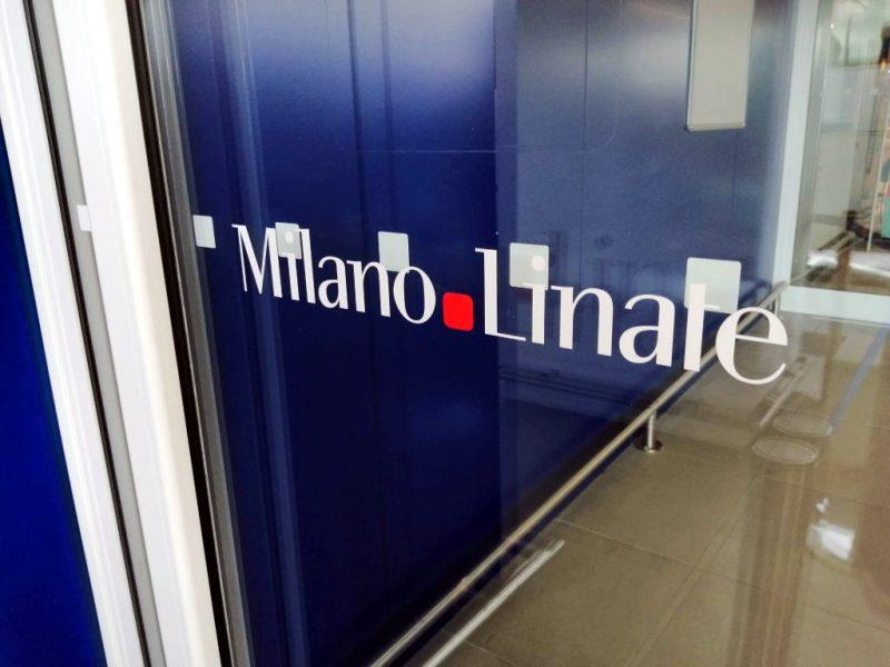 Flughafen Mailand-Linate (Foto: Jan Gruber).
