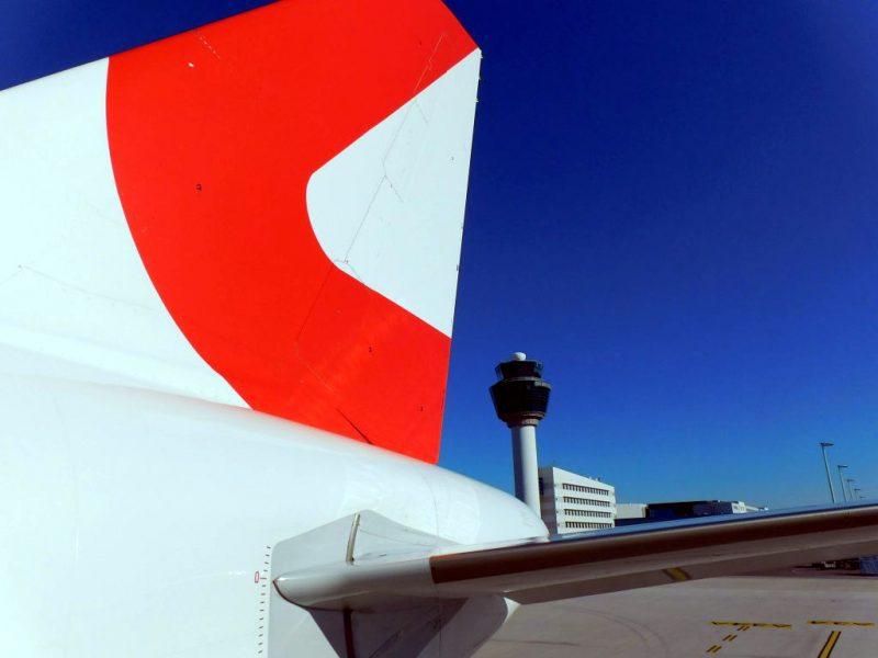 Airbus A320 von Lauda Europe am Flughafen Athen (Foto: Jan Gruber).