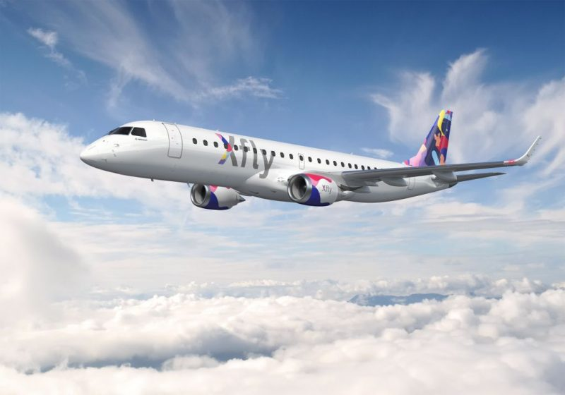 Embraer 190 (Foto: Xfly).
