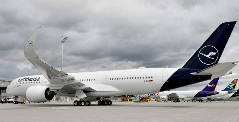Airbus A350 (Foto: Lufthansa / Alex Tino Friedel - ATF Pictures).