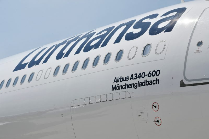 Airbus A340-600 (Foto: Lufthansa / Alex Tino Friedel - ATF Pictures).