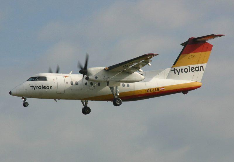 DHC Dash 8-100 (Foto: Paul Spijkers).