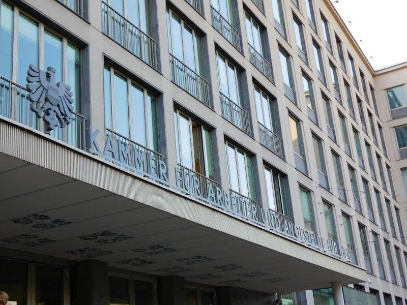 Arbeiterkammer Wien (Foto: Granit Pireci).