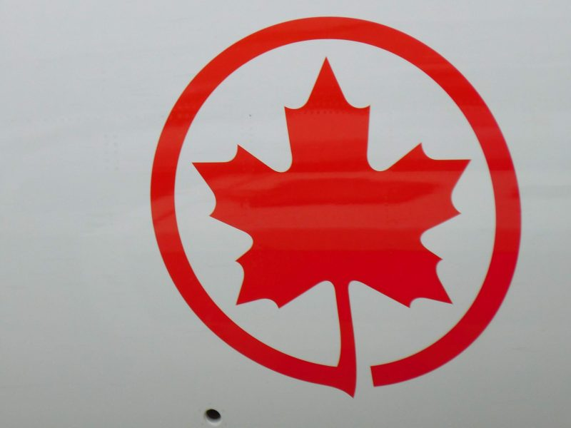 Logo von Air Canada auf einer Boeing 787 (Foto: Jan Gruber).