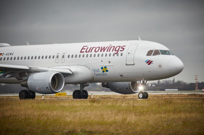 Airbus A320 (Foto: Eurowings / Oliver Roesler).