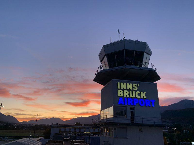 Tower in Innsbruck (Foto: Flughafen Innsbruck).