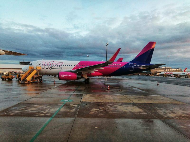 Airbus A320 von Wizzair am Flughafen Wien (Foto: Jan Gruber).