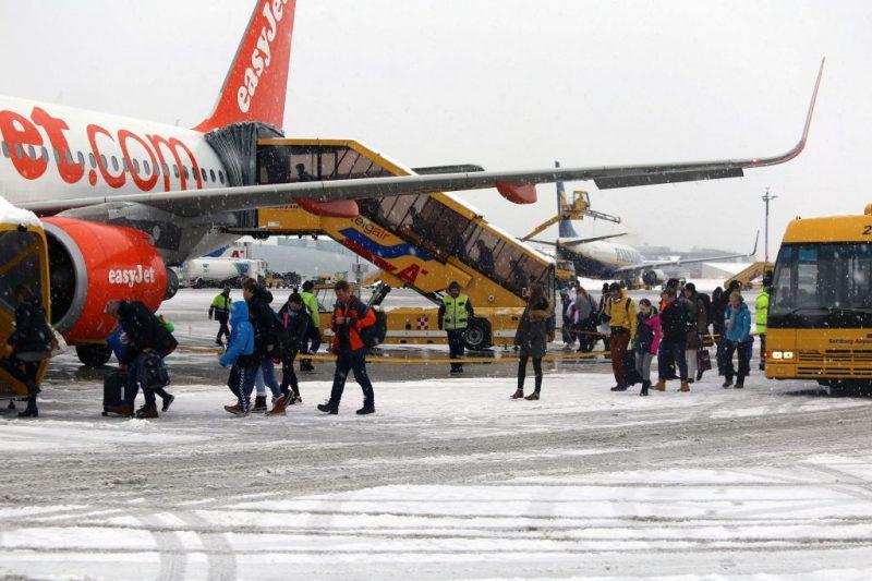 Easyjet am Flughafen Salzburg (Foto: Salzburg Airport Presse).