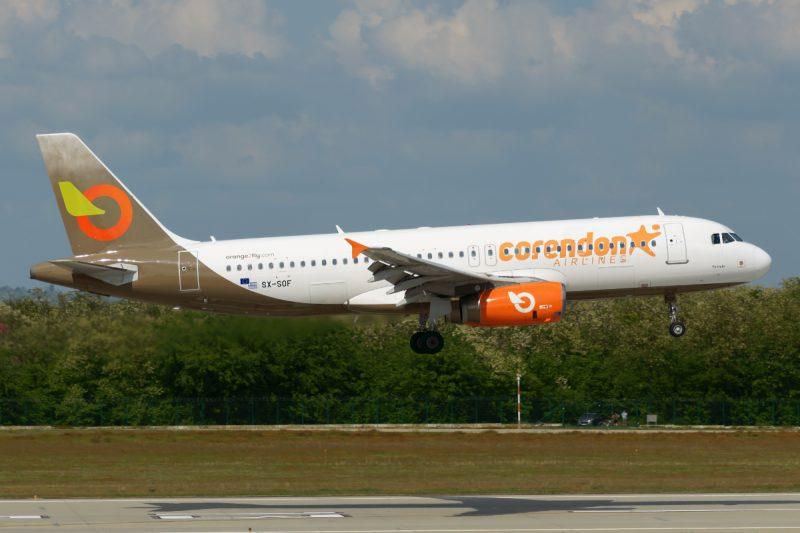 A320 im Wetlease-Einsatz für Corendon (Foto: V1Images.com/Menyhért Kristóf Bence).