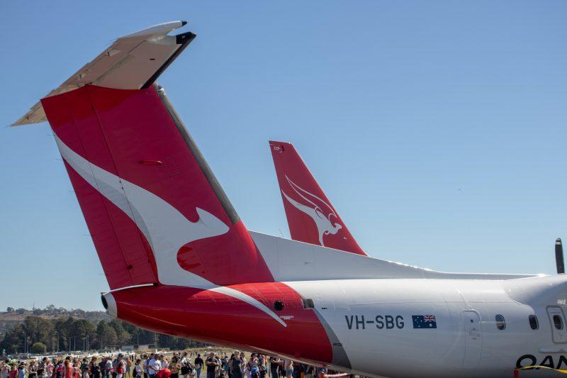 DHC Dash 8-300 (Foto: Qantas).