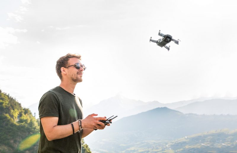 Drohnen erfreuen sich steigender Beliebtheit (Foto: Pixabay).