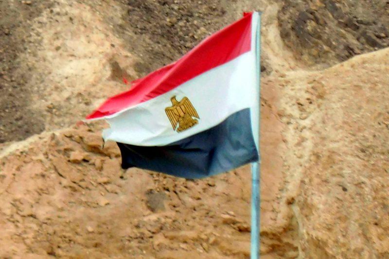 Flagge von Ägypten (Foto: Jan Gruber).