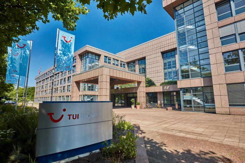 Zentrale des Reisekonzerns Tui in Hannover (Foto: Tui Group / Christian Wyrwa).